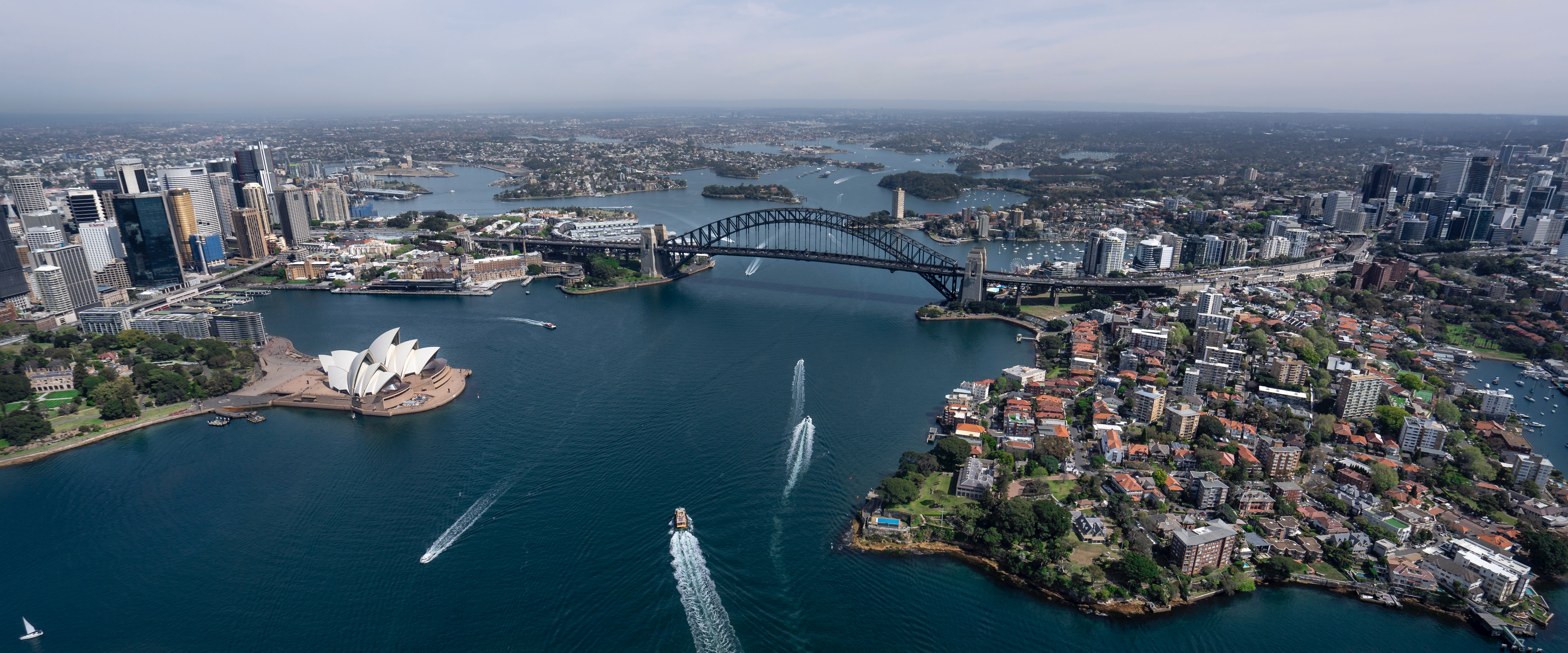 COVID spread has been different depending on the country. Image of Sydney harbour