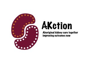 AKtion logo - Aboriginal Kidney Care together improving outcomes now.