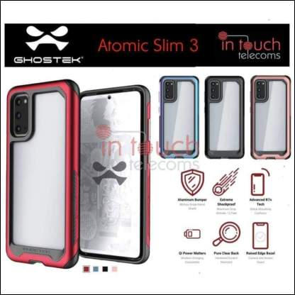 Ghostek Atomic Slim 3 Case for Samsung Galaxy S20 Ultra | Military Drop Tested