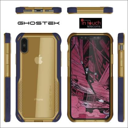 Ghostek Cloak 4 Case for iPhone XR | Military Drop Tested Rugged Heavy Duty Case