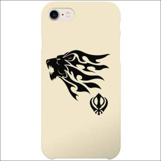 iPhone 8/7/SE Case - Sikh Lion Khanda