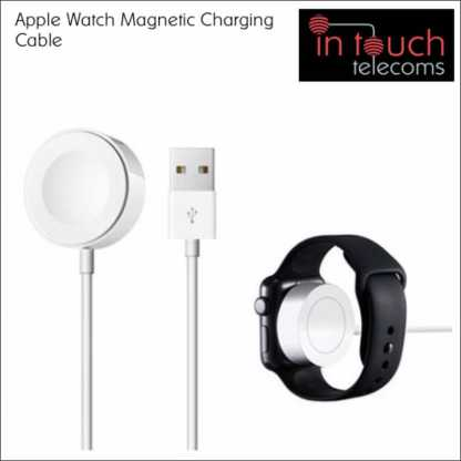 Magnetic Charging Cable for iPhone Watch Supports OS 5.1 - White | 1 Metre