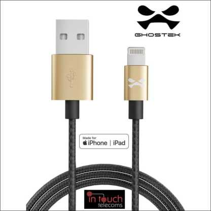 MFi Certified Fast Charge 1m Lightning Cable | Ghostek NRGline
