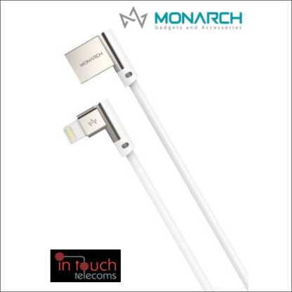 Monarch Gadgets W-Series | Lightning USB Cable - Black
