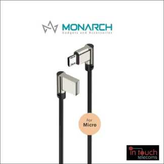 Monarch Gadgets W-Series | Micro USB Cable - Black