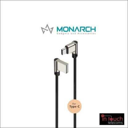 Monarch Gadgets W-Series | Type-C USB Cable - White
