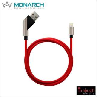 Monarch Gadgets X-Series | Lightning USB Cable - Red