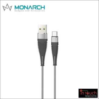 Monarch Gadgets Y-Series | Type-C USB Cable - Silver