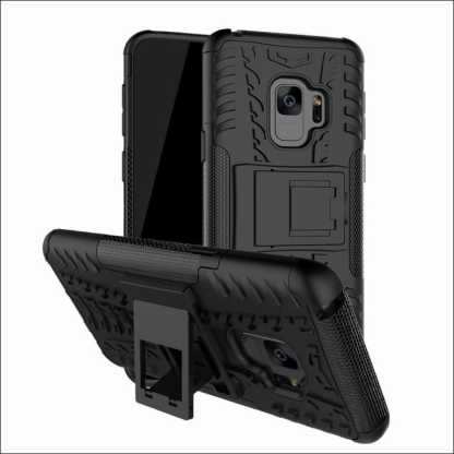 Shockproof Heavy Duty Stand Case Skin Cover For Samsung Galaxy S9 (5.8 inch)
