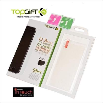 TopGift Premium Tempered Glass for iPhone 8/7 | Screen Protection