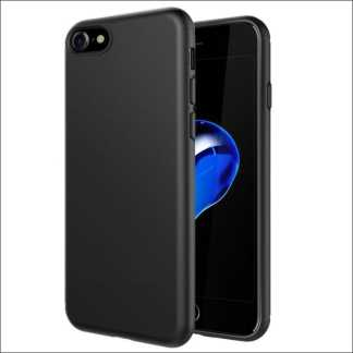 Xquisite Premium Silicon Case - Black | For iPhone 8/7/SE