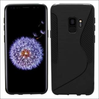 Xquisite Samsung S9 Carbon S Gel Case - Black