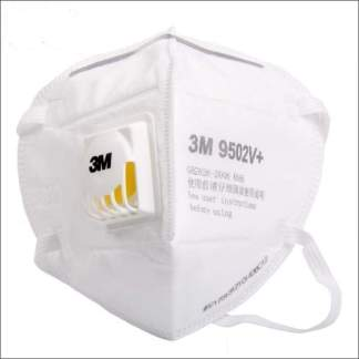 3M 9502V+ FFP2 / KN95 Respirator Valved Face Mask | Meets the WHO Standards for Covid-19