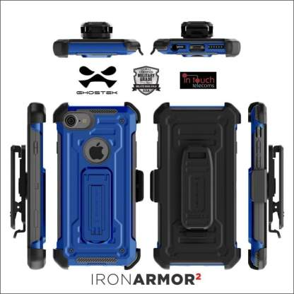Ghostek Armor2 Case for iPhone 8/7/SE   Tough Rugged Military Drop Tested