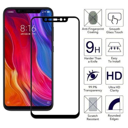Monarch Premium 5D Tempered Glass for iPhone 11 / XR | Screen Protection