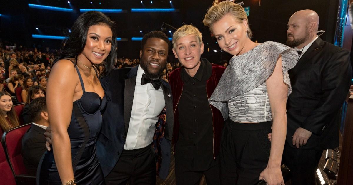Ellen DeGeneres Dragged For Defending Kevin Hart
