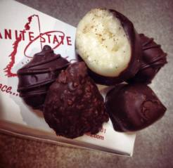 Granite State Candy Shoppe | coconut and dark chocolate chocolates Got these for my Mom for Mother's Day--she is going to love them! (image via Intown staff)