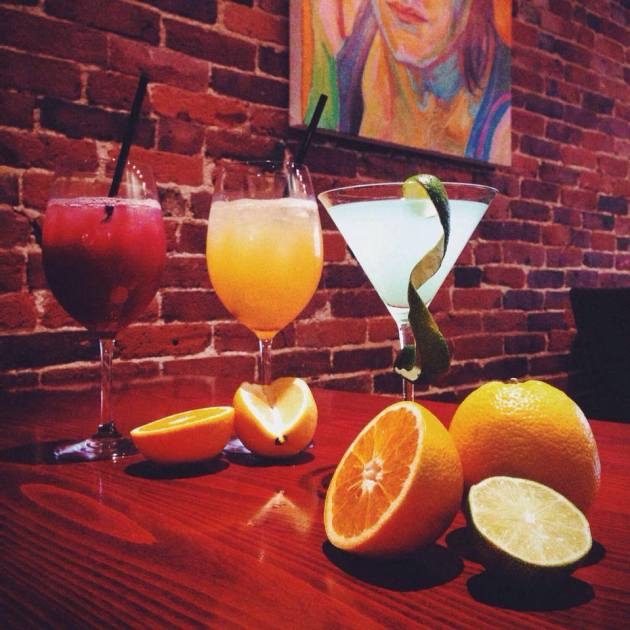 """Firefly   """"Friday-Sunday, July 4, 5, and 6 with our Red Sangria, White Sangria, and Blue Bellini martini - priced at $7.04 each."""""""