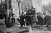 President Taft being helped out of a carriage in 1912.