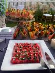 Tidewater Catering | watermelon with feta and mint