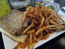 Republic   Veggie Burger