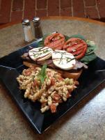 Waterworks Cafe | Balsamic Flank Steak Sandwich