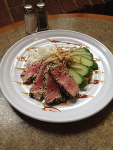 Waterworks Cafe | Pan-seared Tuna