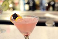 Mint | Raspberry Lemon Martini
