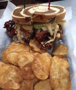 Bada Bing - BBQ Chicken Sandwich