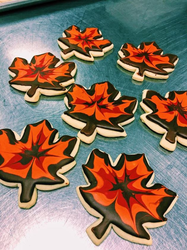 Finesse | Sugar Cookie Maple Leaves