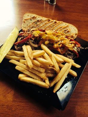 Waterworks Cafe | Chipotle Steak and Cheese Sandwiches