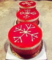 Finesse Pastries - Winter Mint Gateau