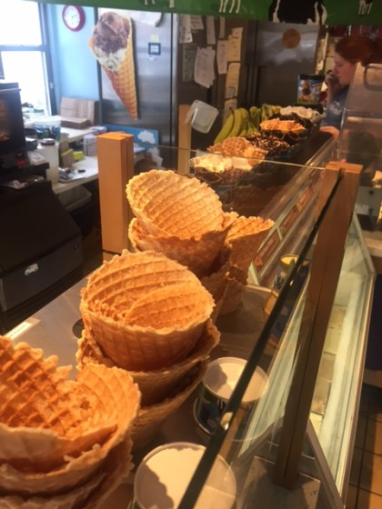 Ben and Jerry's   Waffle Cones