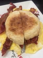 B&B   egg sandwich