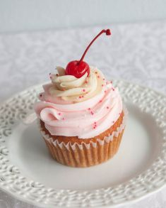 Queen City Cupcakes - Cherry Vanilla Cupcake