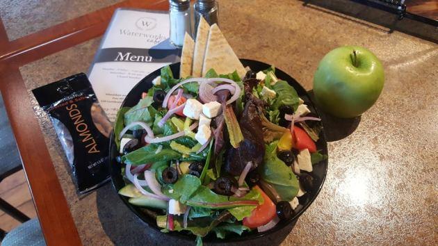 Waterworks   Greek salad