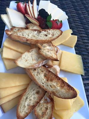 XOonElm | cheese plate