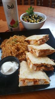 Waterworks Cafe   Buffalo Chicken Quesadilla