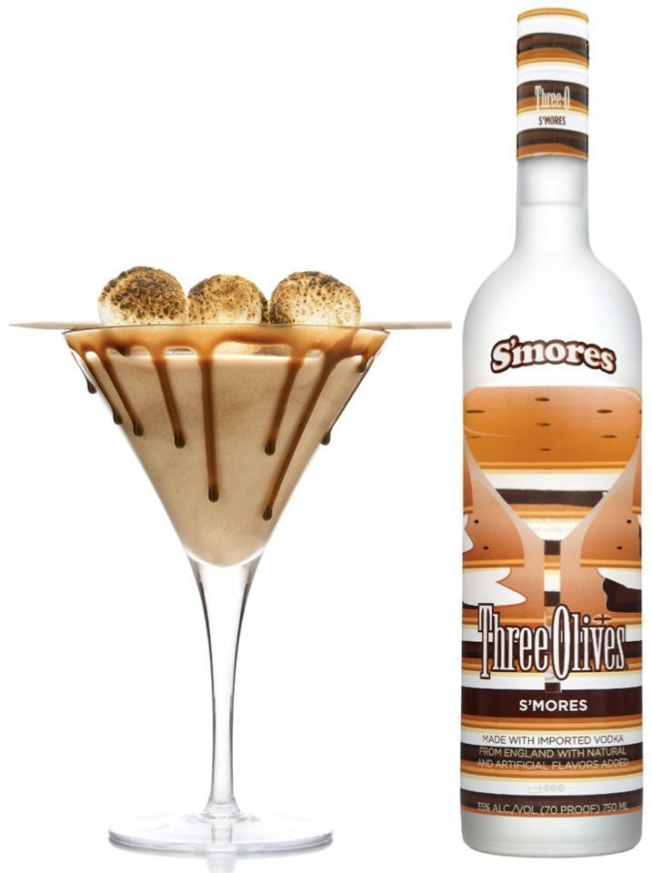 Awe Inspiring Introducing Three Olives Smores Vodka Personalised Birthday Cards Xaembasilily Jamesorg