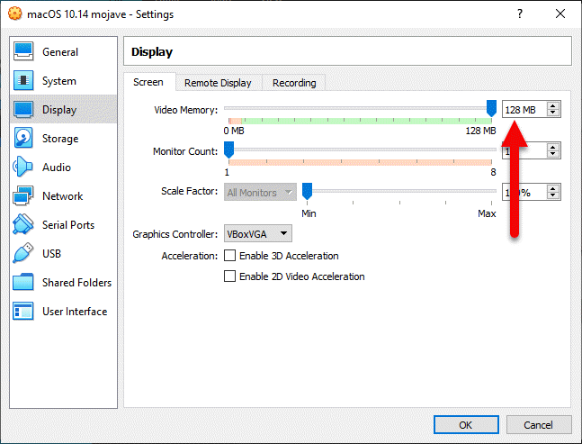 Install macOS Mojave on VirtualBox