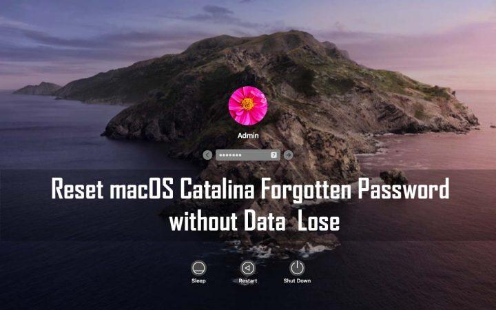 Reset macOS 10.15 Catalina Forgotten Password