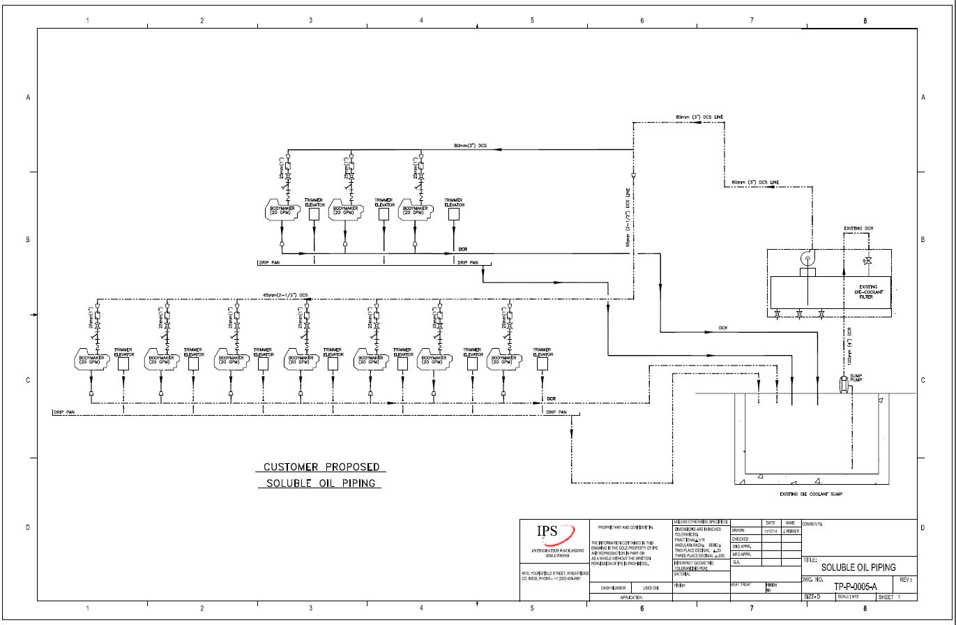 hight resolution of  p id pipe instrumentation design support integrated packaging solutions