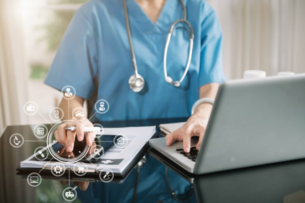 doctor-using-technology