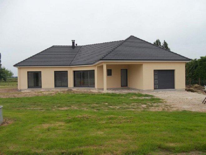 Maison De Plain Pied 27 14426 Gueudry