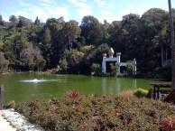 Natural spring-fed lake at Self-Realization Fellowship Lake Shrine Temple