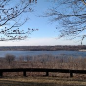 Illiniwek Forest Preserve overlooking the Mississippi