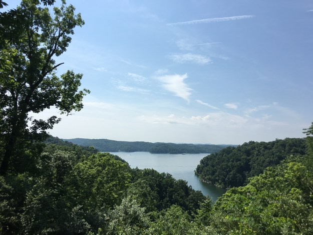 The view of Lake Cumberland