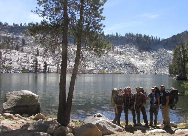Our crew at Ostrander Lake.