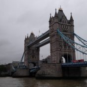 Tower Bridge as seen while walking London