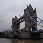 Tower Bridge as seen while walking London